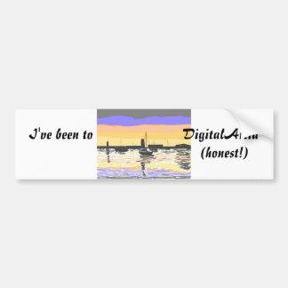 Bumper sticker DigitalArtia