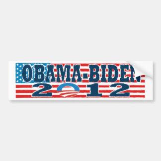 Bumper Sticker Flag Obama-Biden 2012 Car Bumper Sticker