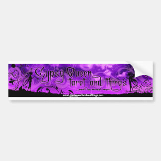 Bumper Sticker from Gypsy Queen Tarot and Things Car Bumper Sticker
