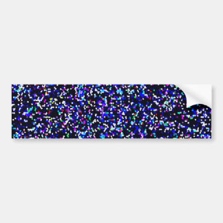 Bumper Sticker Glitter Graphic Background