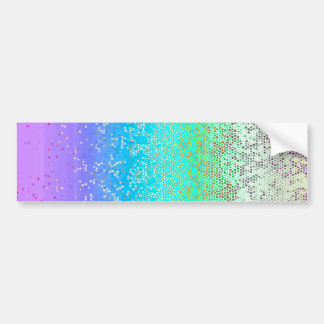 Bumper Sticker Glitter Star Dust