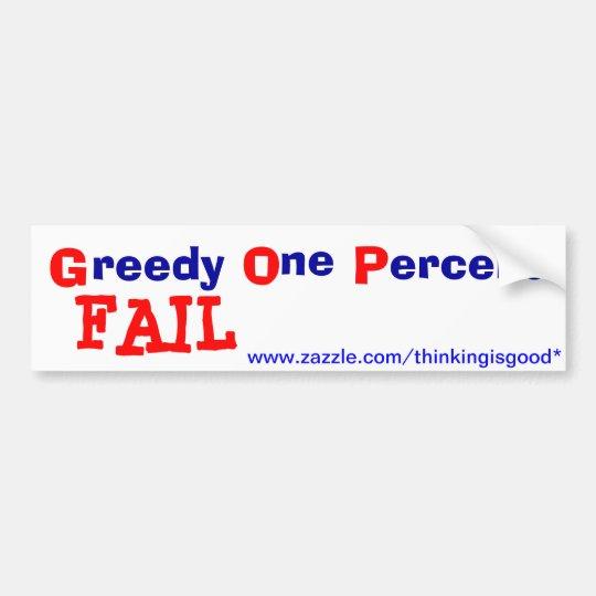 Bumper Sticker - GOP - FAIL