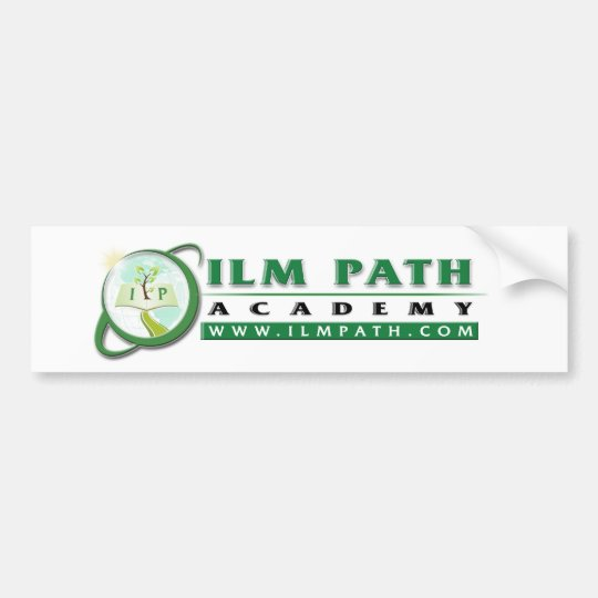 Bumper Sticker - Ilm Path Academy