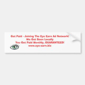 Bumper Sticker Income Builder