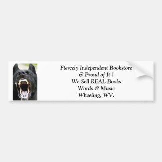 bumper sticker independent bookstore wheeling wv.