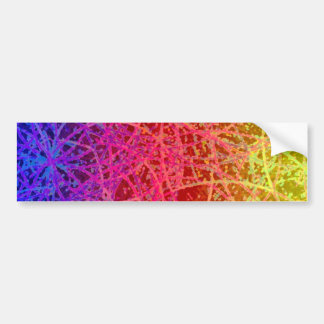 Bumper Sticker Informel Art Abstract