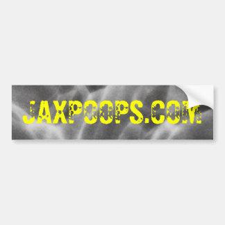 Bumper Sticker JAXPOOPS COM