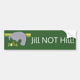 Bumper Sticker Jill 2016 Graphic