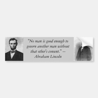 Bumper Sticker : Lincoln