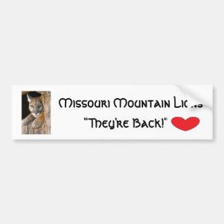Bumper Sticker-Missouri Mountian Lions Bumper Sticker