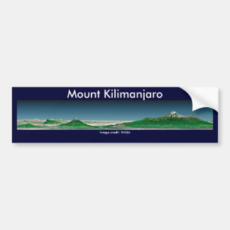 Bumper Sticker / Mount Kilimanjaro