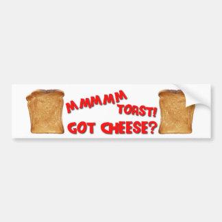 Bumper Sticker n Toast