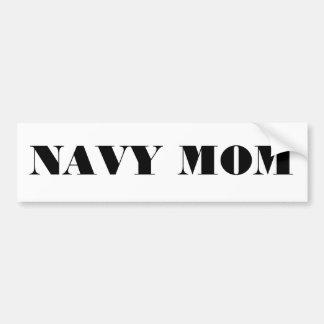 Bumper Sticker Navy Mom Car Bumper Sticker