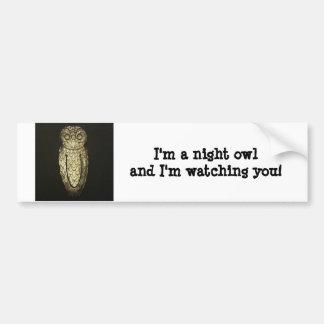 Bumper Sticker - Night Owl