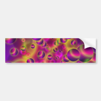 Bumper Sticker Psychedelic Visions
