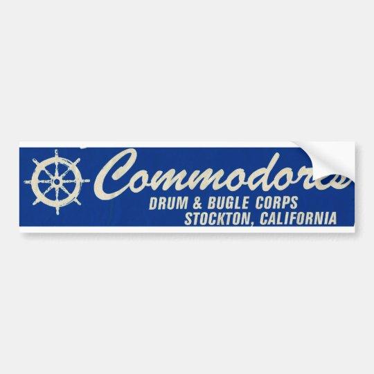 Bumper Sticker-Stockton Commodores Drum & Bugle Bumper Sticker