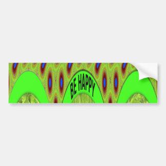 Bumper Sticker Template