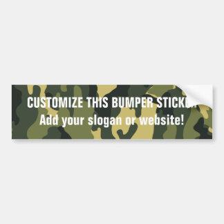 Bumper Sticker Template Car Bumper Sticker