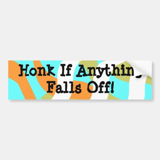 Bumper Sticker Vintage RVing Humour IceBreakers