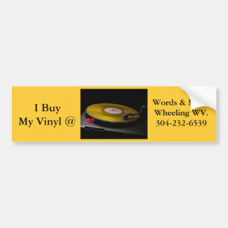 bumper sticker vinyl lp wheeling wv
