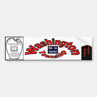 Bumper Sticker Washington Township Kids/Special
