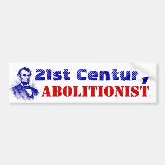 Bumper Stickers 21st Century Abolitionist Lincoln