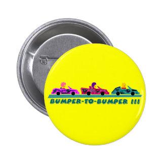 Bumper-to-Bumper Pinback Buttons