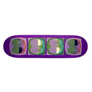 Bumper to Bumper Traffic 20.6 Cm Skateboard Deck