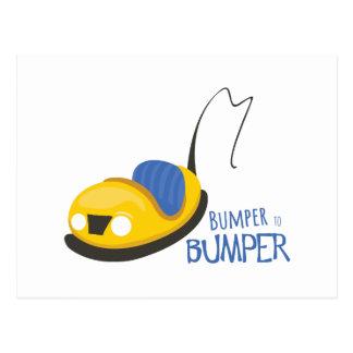 BumperCars_BumpertoBumper Postcard