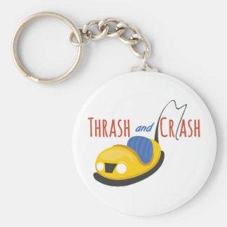 BumperCars_TrashandCrash Keychains