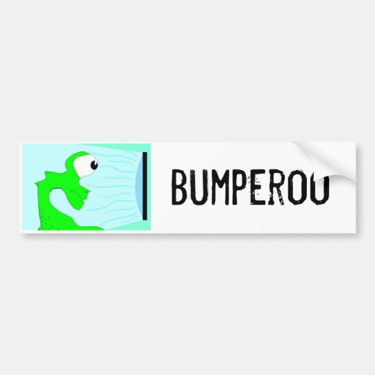 Bumperoo Bumper Sticker