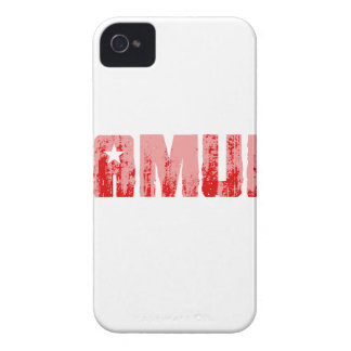 Bumpersticker - Obamunism red Faded.png iPhone 4 Covers