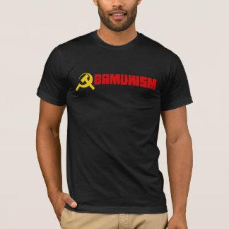Bumpersticker - Obamunism red T-Shirt
