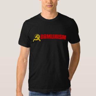 Bumpersticker - Obamunism red Tee Shirts