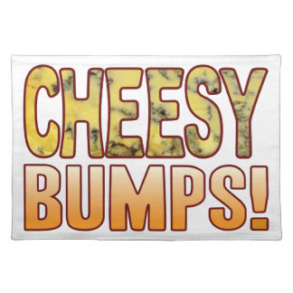 Bumps Blue Cheesy Place Mat