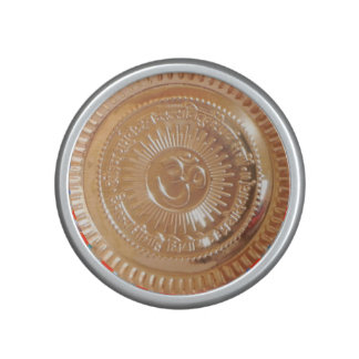 Bumpster Speaker Gold Embossed OM mantra OMmantra