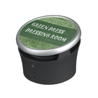 Bumpster Speaker Green Dress Dressing Room