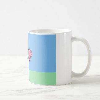 Bumpy Brains Flamingo Mug