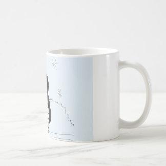 Bumpy Brains Penguin Basic White Mug