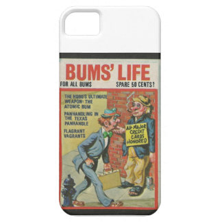 Bum's Lilfe wacky package Case For The iPhone 5