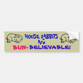 BUN-Believable Bumper Sticker