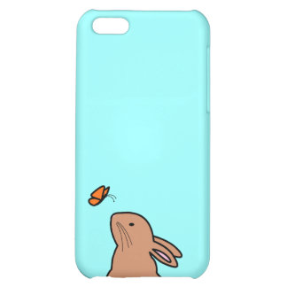 BUN & BUTTERFLY iPhone 5C COVER