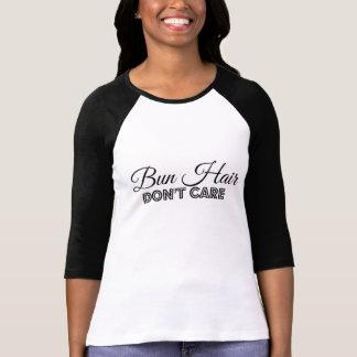 Bun Hair Don't Care Shirt