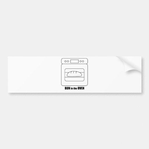 Bun in the Oven Bumper Stickers