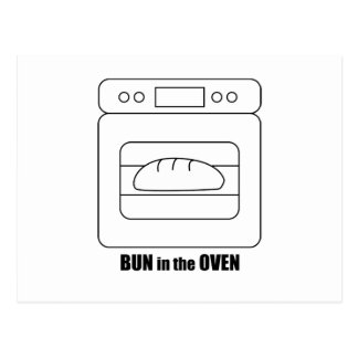 Bun in the Oven Postcard