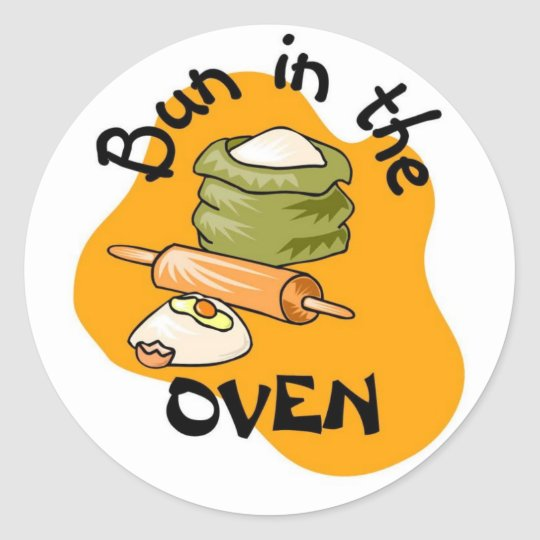 Bun in the Oven Sticker