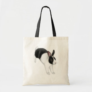Bun on the Run Rabbit Tote Bag