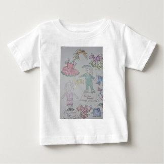 BunBun and Olga Paperdolls Baby T-Shirt