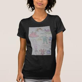 BunBun and Olga Paperdolls T Shirt