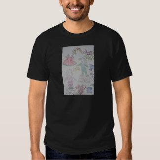 BunBun and Olga Paperdolls T-shirts